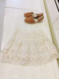我的小巴黎 H2O專櫃 蕾絲短裙