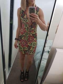 Roger Grinstead Colorful Dress