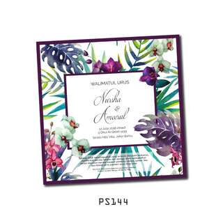 Wedding Card Kad Kahwin