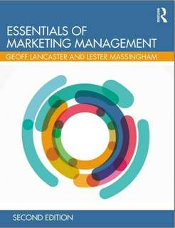 Essentials of Marketing Management 2nd Edition eBook