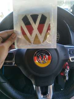 Volkswagen Germany sticker