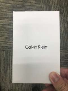 CK Calvin Klein Wallet and Key fob