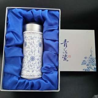 """Blue-and-white porcelain"" (青花瓷) Tumbler"