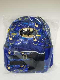 正版Batman 連帽小朋友背囊