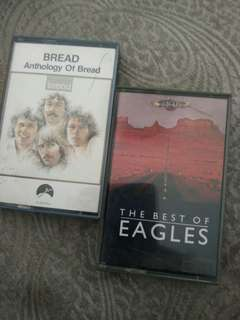 Cassette tapes, original, band