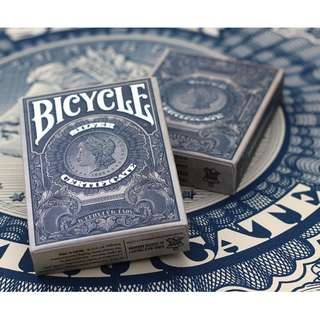 Bicycle Silver Certificate Playing Cards