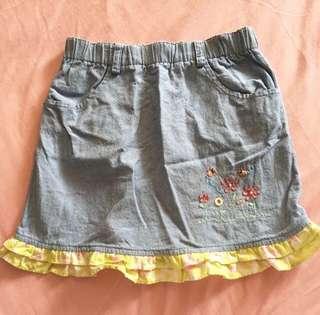 LesEnphants Denim Skirt
