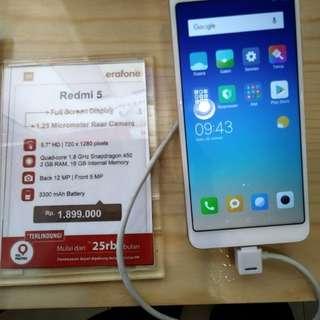 Cicilan Tanpa Kartu Kredit Hp Xiaomi Redmi 5
