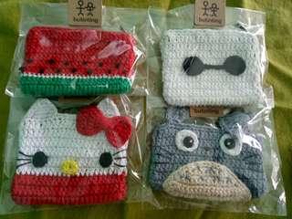 Crochet character coinpurse