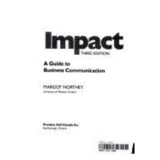 Impact: A Guide To Business Communications