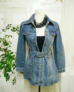 Denim coat design jacket