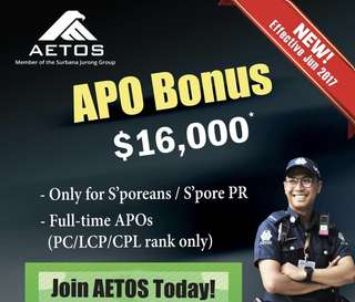 Join the AETOS Family for a Stable and Rewarding Career!