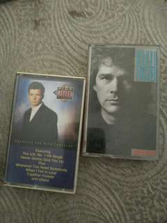 Cassette tapes, original, male artists