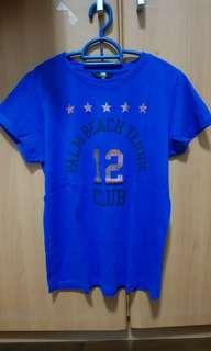 Palm Beach Tennis 12 club Blue Shirt