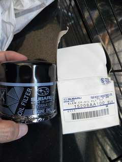 Subaru 15208aa100 engine oil filter