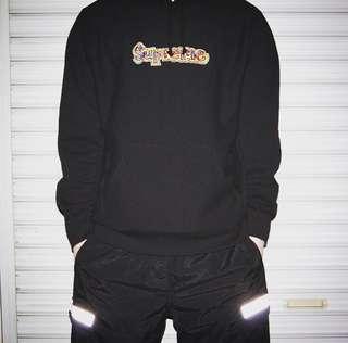Supreme Gonz Logo Hooded Sweatshirt