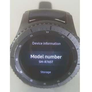 Samsung Gear S3 (UK LTE)