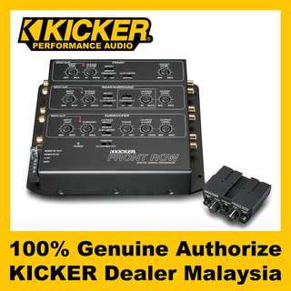 KICKER 6 Channel Signal Processor, FRONT ROW (12ZXDSP1)