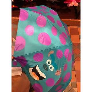 怪獸公司 毛毛雨傘 遮
