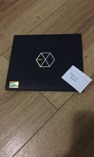 Official EXO MAMA ALBUM (Korean Version)