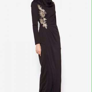 (FOR RENT) Zalia 2016 Black Dress