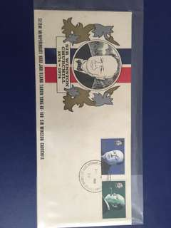 1974 Brunei Winston Churchill FDC