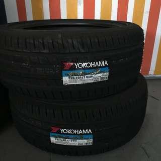 """Last set 17"""" tyres"""
