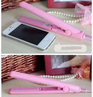 Mini Hair Straightener&Curler