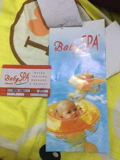 Baby Spa swimming and massage