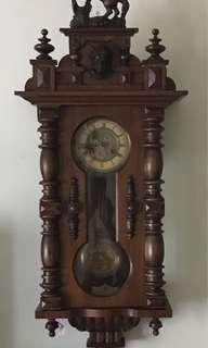 Antique German Thomas Haller Wall clock
