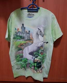 Green Unicorn shirt