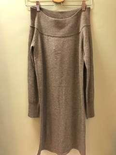 Knitted Dress 一字膊/露肩款
