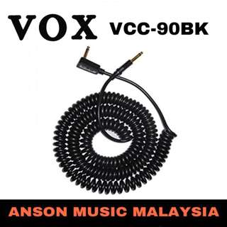 Vox VCC-90BK Vintage Coiled Cable, 9M