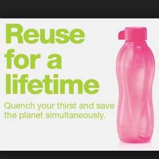 Tupperware 2L water bottle