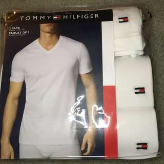 100% authentic Tommy HilfigerV-neck T-shirts