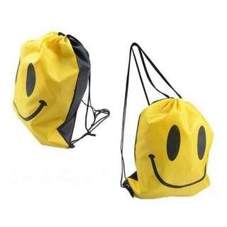 Bag drawn smile