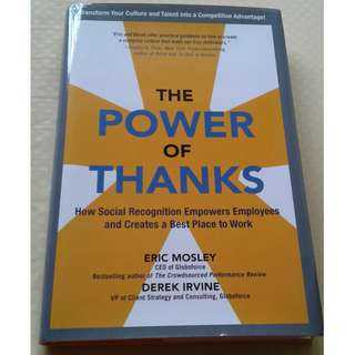 The Power of Thanks: How Social Recognition Empowers Employees and Creates a Best Place to Work (Business Books)
