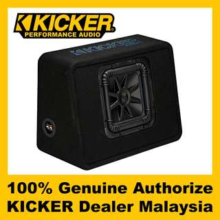 "KICKER L7S 10"" Loaded Enclosure Suwboofer, 1200W - TL7S102"