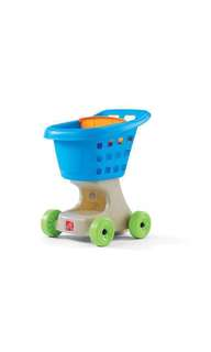 *instock* Step2 Little Helpers Kids Shopping Cart push cart trolley - step 2