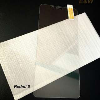 Tempered Glass Redmi 5 Bening