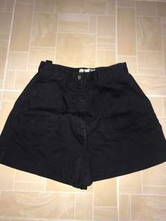 Hi-waist shorts