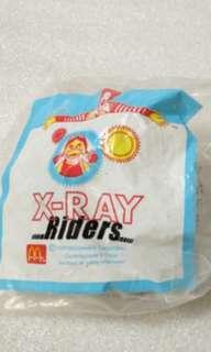 McDonald's 麥當勞 1996年 絕版 X-Ray 小菲菲透明飛機