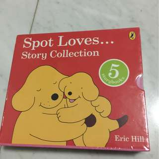 Spot Loves... story collection (5 books)