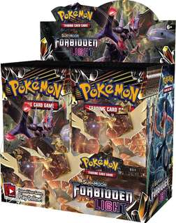 (INSTOCK) - Forbidden light booster box and other products!