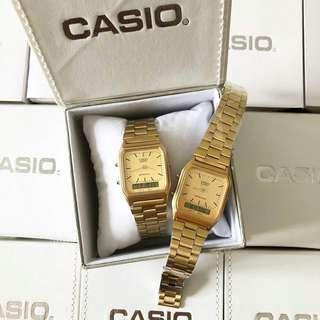 Casio Petak Dual Time Women Viral Limited Edition
