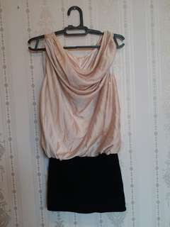 Dress gold soft