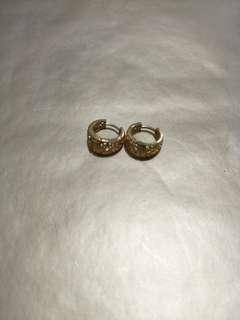 Gols earrings