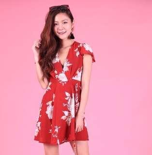 PO: Kimono Tie Back Dress