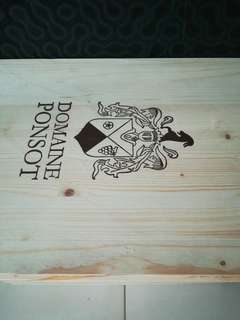 Wine crate cover