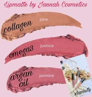 LIPMATTE BY JANNAH COSMETICS